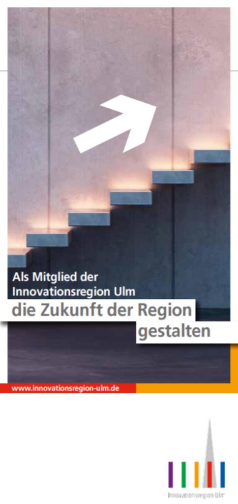 Flyer der Innovationsregion