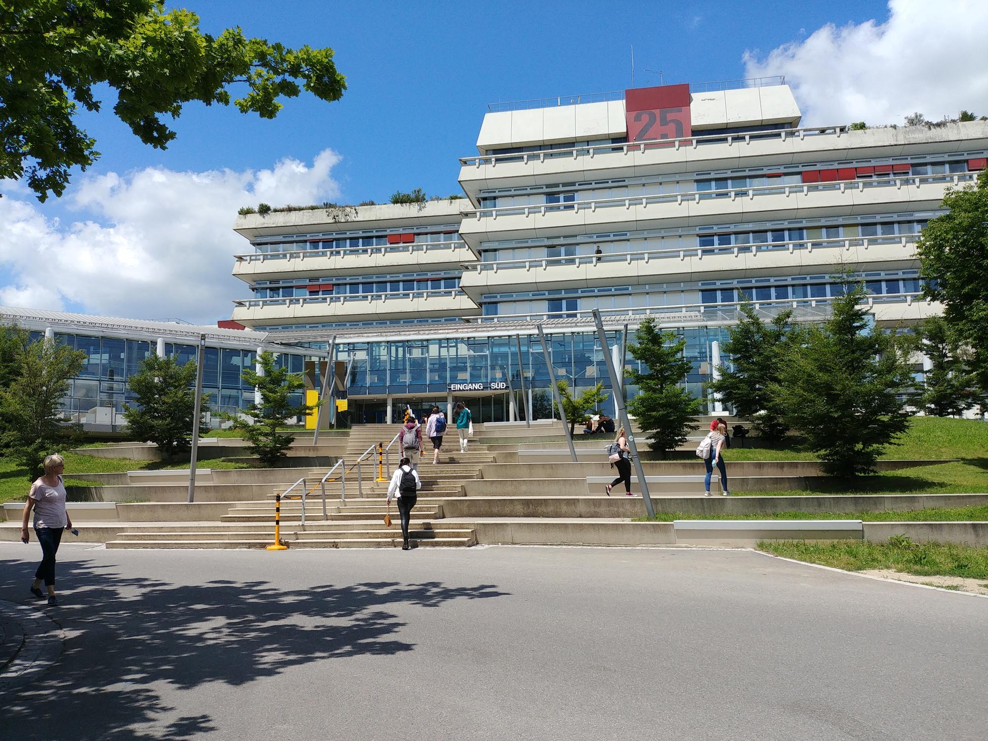 Die Universität Ulm  [Bild: Martina Fischer / Uni Ulm ]