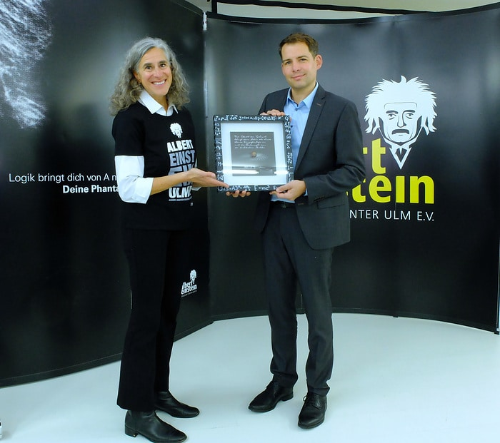 Carl-Zeiss-Stiftung unterstützt Albert Einstein Discovery Center mit 70.000 Euro [Foto: Press'n'Relations GmbH / Uwe Pagel]